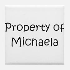 Unique Michaela Tile Coaster