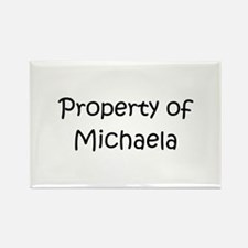 Unique Michaela Rectangle Magnet