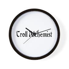 Troll Alchemist Wall Clock