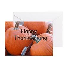 Pumpkins Thanksgiving Card