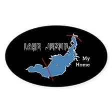 Lk. Jesup MY HOME Oval Decal