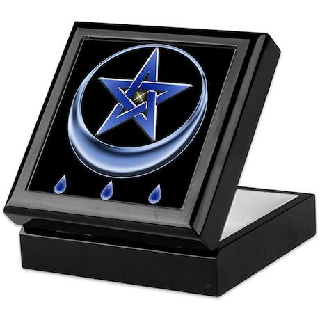 Blessing Symbol & Pentagram Keepsake Box
