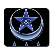 Blessing Symbol & Pentagram Mousepad