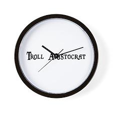 Troll Aristocrat Wall Clock