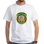 Mississippi Railroads White T-Shirt