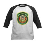 Mississippi Railroads Kids Baseball Jersey