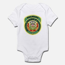 Mississippi Railroads Infant Bodysuit