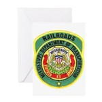 Mississippi Railroads Greeting Card