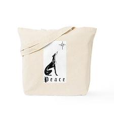 Greyhound Christmas Peace Tote Bag