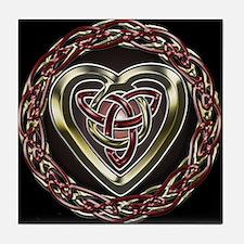 Celtic Heart Tile Coaster