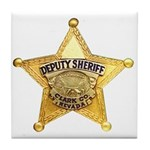 Clark County Sheriff Tile Coaster