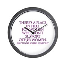 Unique Palin Wall Clock