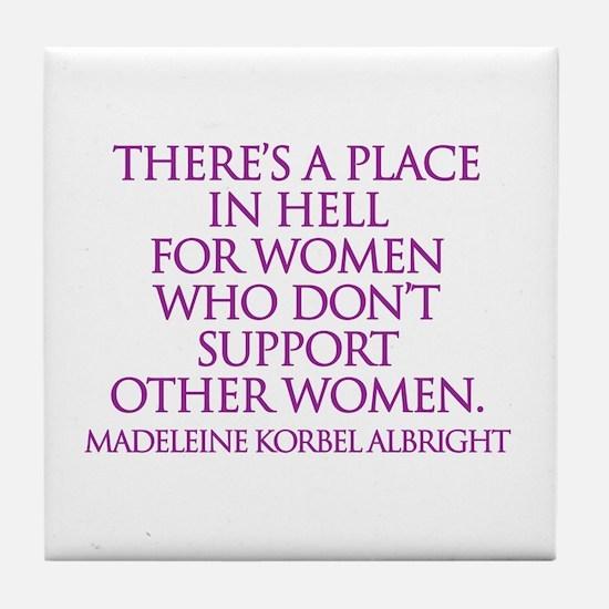 Cute Madeline Tile Coaster