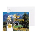 The OES Harvest Greeting Cards (Pk of 20)