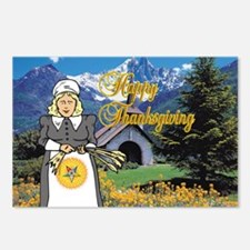 The OES Harvest Postcards (Package of 8)