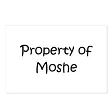 Unique Moshe Postcards (Package of 8)