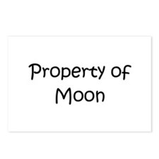 Funny Moon names Postcards (Package of 8)