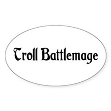 Troll Battlemage Oval Decal