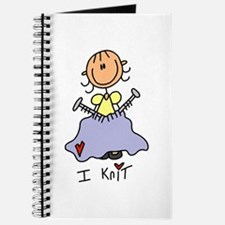 I Knit Stick Figure Journal