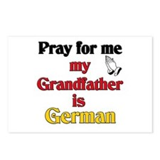 Pray for me my grandfather is German Postcards (Pa