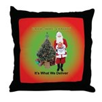 The Masonic Christmas Promise Throw Pillow