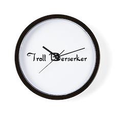 Troll Berserker Wall Clock
