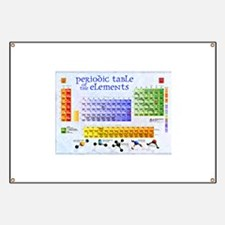 Cute Periodic table Banner