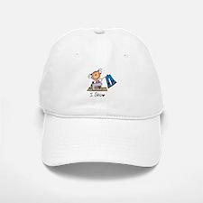 I Sew Stick Figure Baseball Baseball Cap