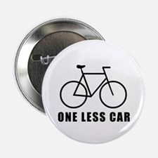 One less car - cycling Button