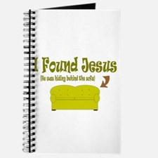 I Found Jesus behind the sofa Journal