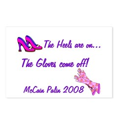 The Heels are on... Postcards (Package of 8)