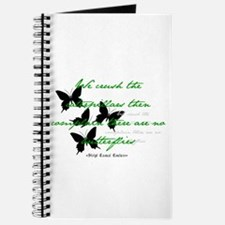 Butterflies Silhouette Quote Journal