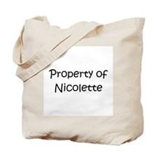 Unique Nicolette Tote Bag