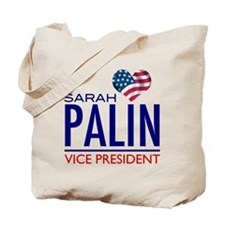 SARAH PALIN FOR VICE PRESIDENT Tote Bag