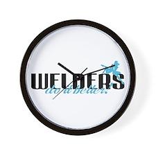 Welders Do It Better! Wall Clock