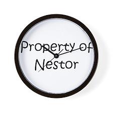 Cool Nestor Wall Clock