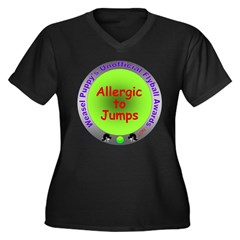 Allergic to Jumps Flyball Spoof Award Women's Plus