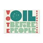 Oil Before People Poster Print (Mini)
