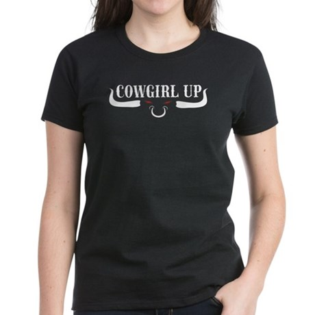 Cowgirl Up Women's Dark T-Shirt