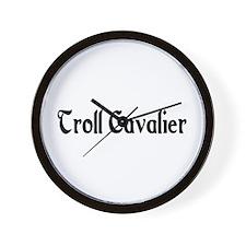 Troll Cavalier Wall Clock