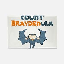Count Braydenula Rectangle Magnet