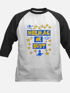 Melmac or Bust Kids Baseball Jersey
