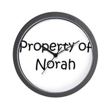Unique Norah Wall Clock