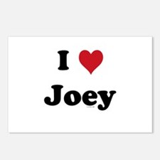 I love Joey Postcards (Package of 8)