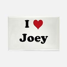 I love Joey Rectangle Magnet
