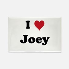 I love Joey Rectangle Magnet (10 pack)