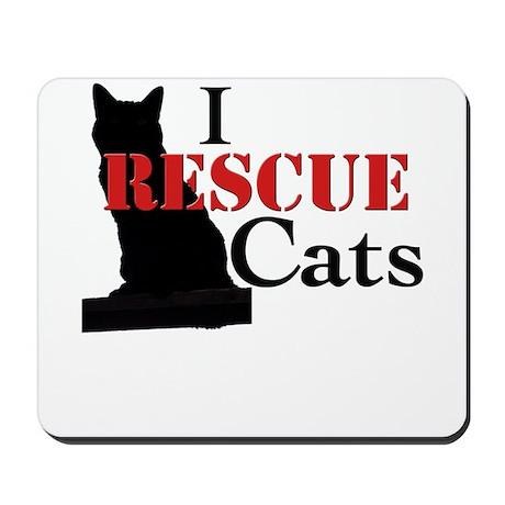 I Rescue Cats Mousepad
