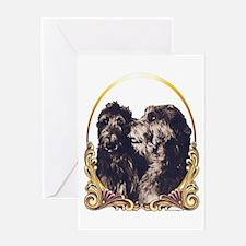 Scottish Deerhounds Christmas Greeting Card