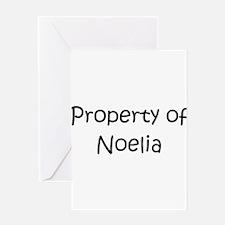 Cute Noelia Greeting Card
