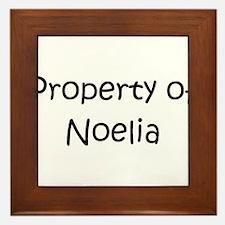 Unique Noelia Framed Tile